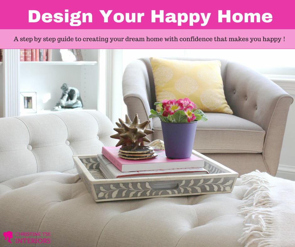 Christine Tse Website Landing Page Online Home Decorating Course For
