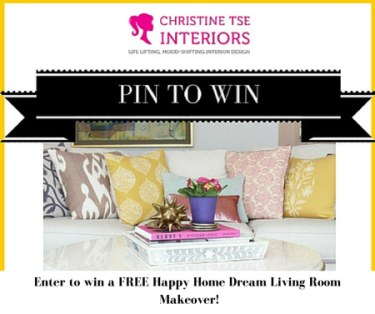 Win A FREE Happy Home Dream Living Room Makeover